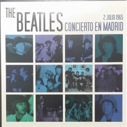 BEATLES - Concierto En Madrid 2 De Julio De 1965 LP+CD+LIBRO