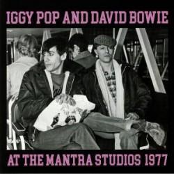 IGGY POP & DAVID BOWIE - At The Mantra Studios 1977 LP