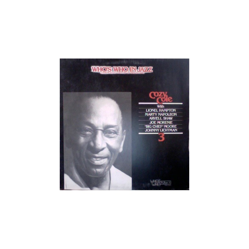 COZY COLE - Who's Who In Jazz