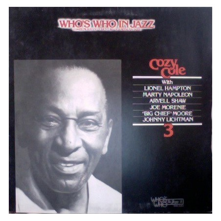 COZY COLE - Who's Who In Jazz LP (Original)