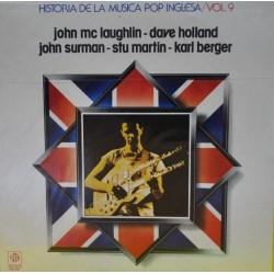 JOHN MCLAUGHLIN, DAVE HOLLAND, JOHN SURMAN, STU MARTIN, KARL BERGER – Historia De La Música Pop Inglesa – Vol. 9 LP