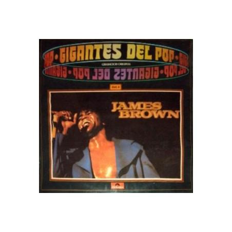 JAMES BROWN - Gigantes Del Pop Vol.4 LP (Original)