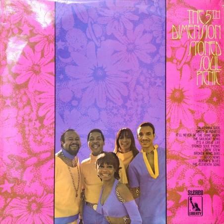 THE 5TH DIMENSION - Stoned Soul Picnic LP (Original)
