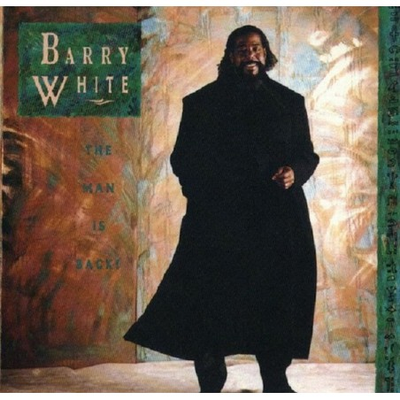 BARRY WHITE - The Man Is Back LP (Original)