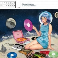 VARIOS - Cápsula de tiempo 25º aniversario Jabalina LP