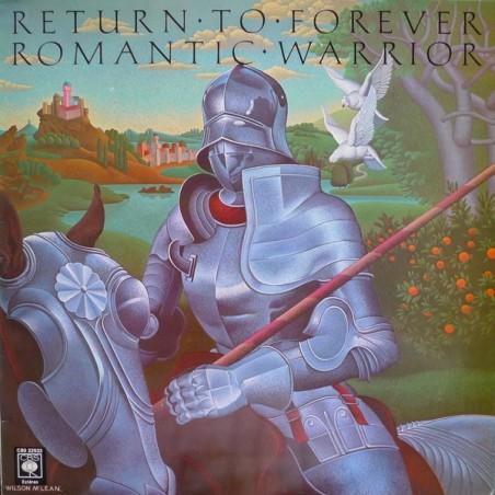 RETURN TO FOREVER - Romantic Warrior LP (Original)