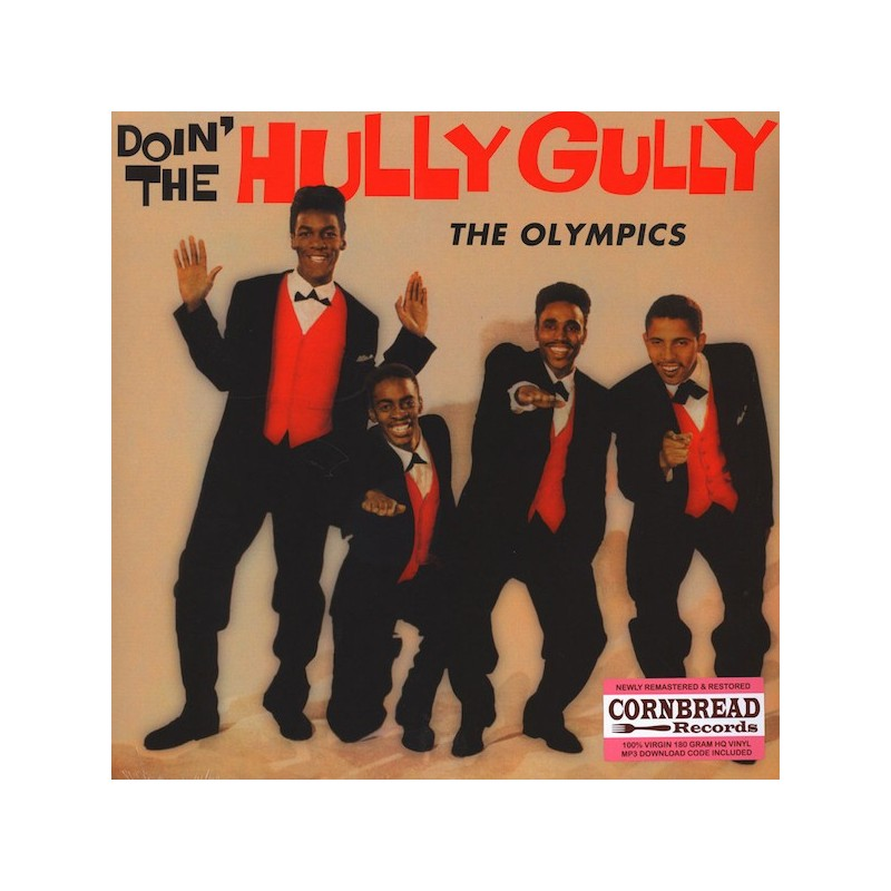 THE OLYMPICS - Doin' The Hully Gully LP