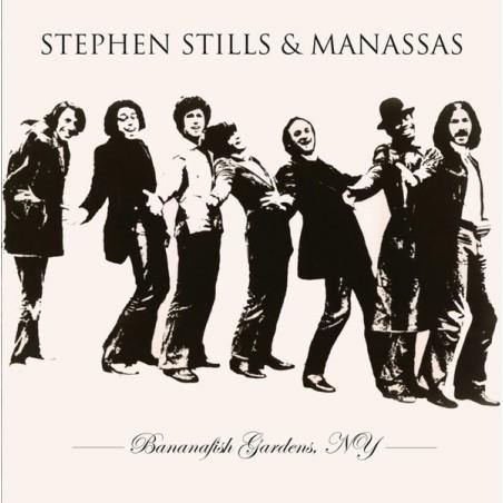 STEPHEN STILLS  & MANASSAS - Bananafish Gardens, NY LP