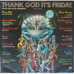 VARIOS - Thank God It's Friday (OST) LP