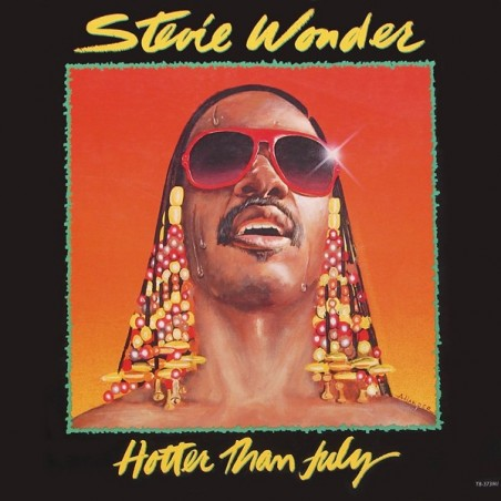 STEVIE WONDER - Hotter Than July LP (Original)