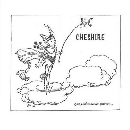 CHESHIRE - Cats, Candles, Friends, Faeries...  LP (Original)