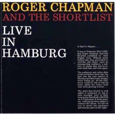 ROGER CHAPMAN & THE SHORTLIST - Live In Hamburg LP (Original)