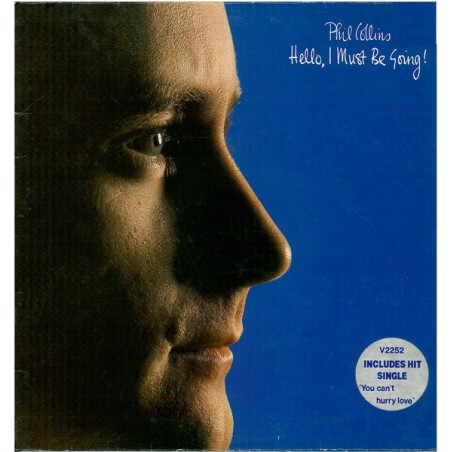 PHIL COLLINS - Hello, I Must Be Going! LP (Original)