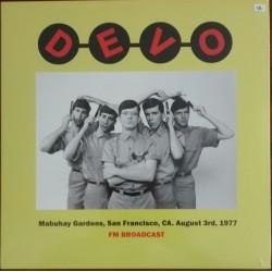 DEVO - Satisfaction - Live At Mabuhay Gardens, San Francisco 1977 LP