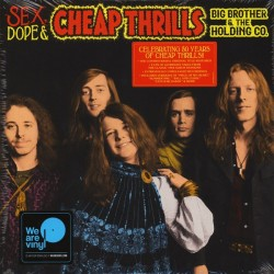 BIG BROTHER & THE HOLDING CO. - Sex, Dope & Cheap Thrills LP