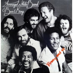 AVERAGE WHITE BAND & BEN E. KING - Benny And Us LP (Original)