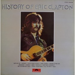ERIC CLAPTON -  History Of LP