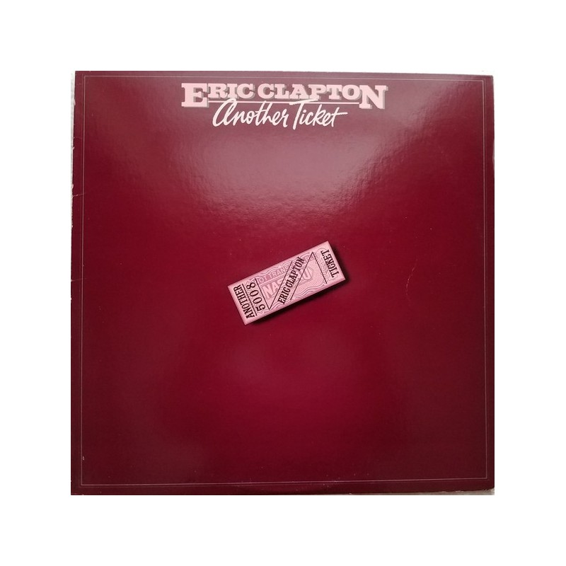 ERIC CLAPTON - Another Ticket LP
