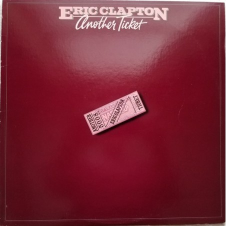 ERIC CLAPTON - Another Ticket LP (Original)