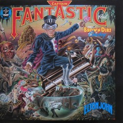 ELTON JOHN -  Captain Fantastic And The Brown Dirt Cowboy  LP