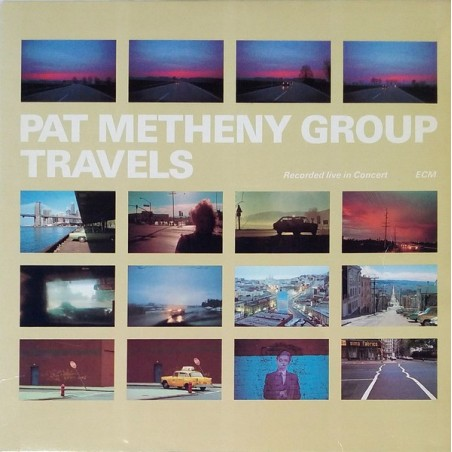 PAT METHENY GROUP - Travels  LP (Original)