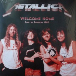 METALLICA ‎– Welcome Home, Live In London 1986 LP