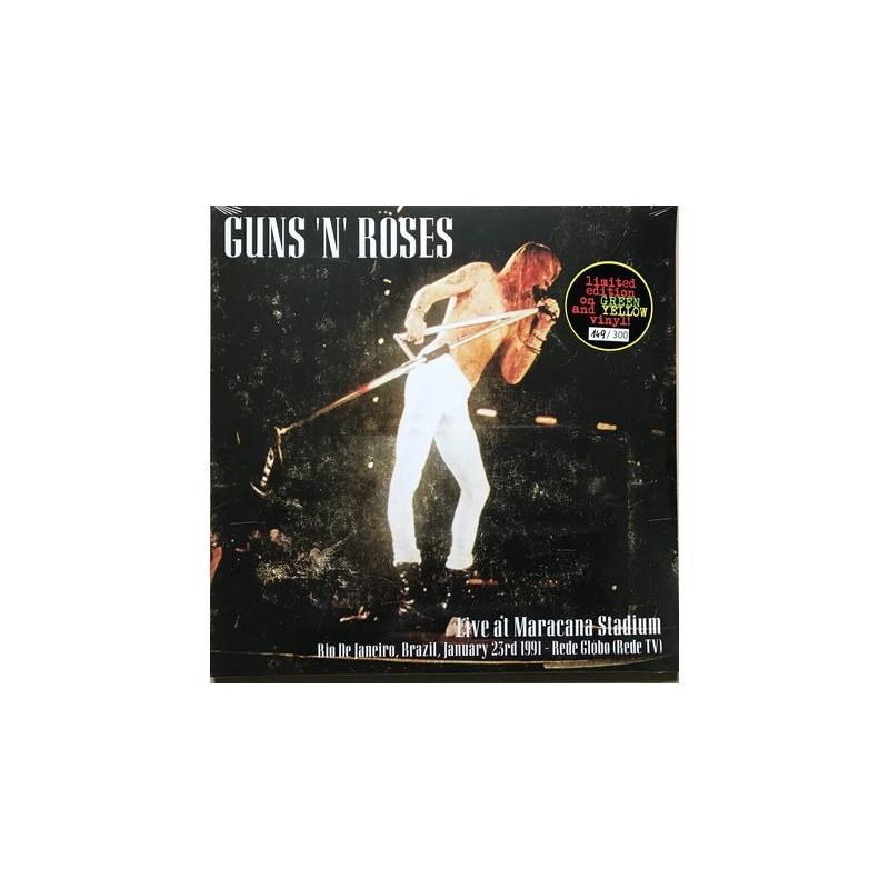 GUNS N' ROSES - Live At Maracana Stadium 1991 LP