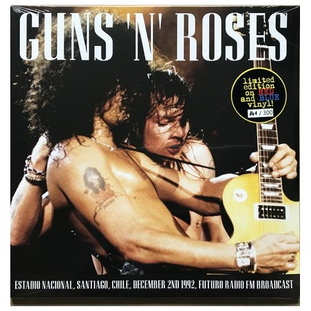 GUNS N' ROSES - Estadio Nacional Santiago Chile 1992  LP