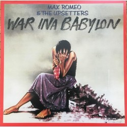 MAX ROMEO & THE UPSETTERS - War Ina Babylon LP