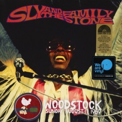 SLY & THE FAMILY STONE - Woodstock Sunday August 17, 1969 LP