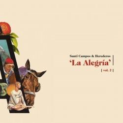 SANTI CAMPOS & HEREDEROS - La Alegría Vol. 2 LP