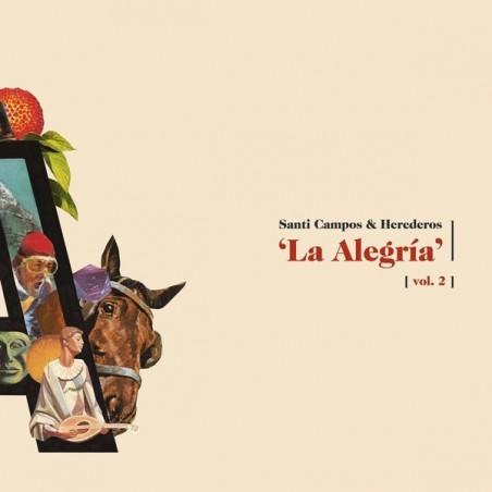 SANTI CAMPOS & HEREDEROS - La Alegría Vol. 2 CD