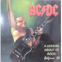 ‎ ‎AC/DC - A Lesson About To Rock! Belgium '86 LP
