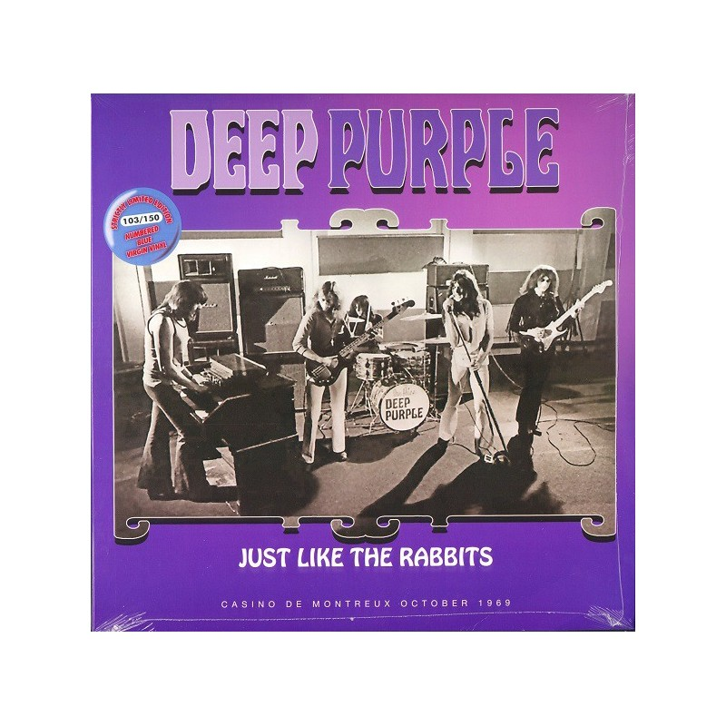 DEEP PURPLE - Just Like The Rabbits  LP