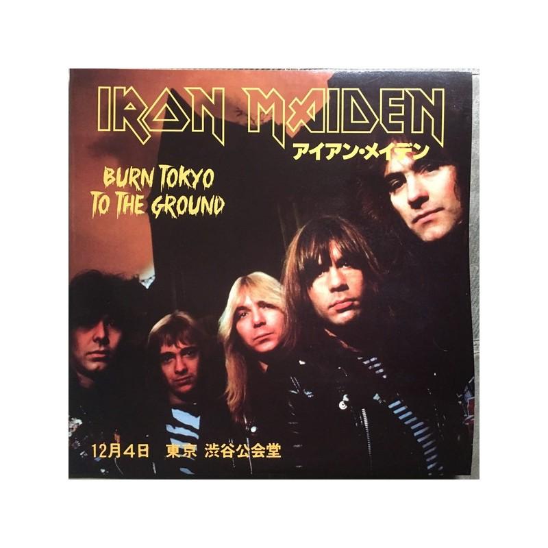 IRON MAIDEN - Burn Tokyo To The Ground LP