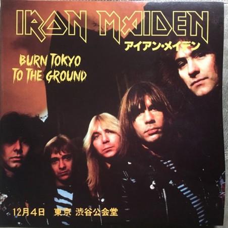IRON MAIDEN - Burn Tokyo To The Ground LP+BOOK