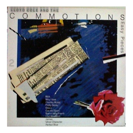 LLOYD COLE & THE COMMOTIONS - Easy Pieces LP