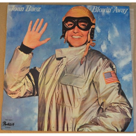 JOAN BAEZ - Blowin' Away LP (Original)