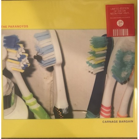 THE PARANOYDS - Carnage Bargain CD