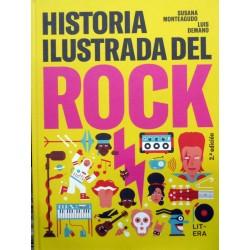 HISTORIA ILUSTRADA DEL ROCK de Susana Monteagudo y Luis Demano