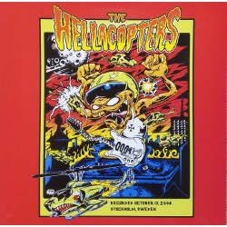 HELLACOPTERS - Recorded October 13, 2008 Stockholm, Sweden LP