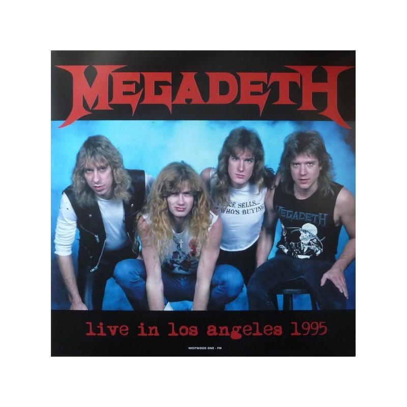 MEGADETH - Live In Los Angeles 1995 LP