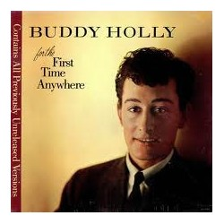 BUDDY HOLLY - For The First Time Anywhere LP