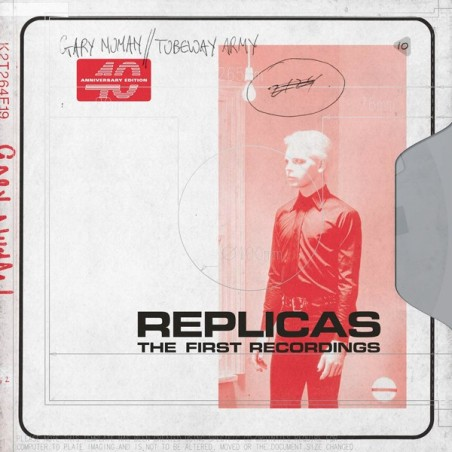 GARY NUMAN / TUBEWAY ARMY - Replicas (The First Recordings) CD
