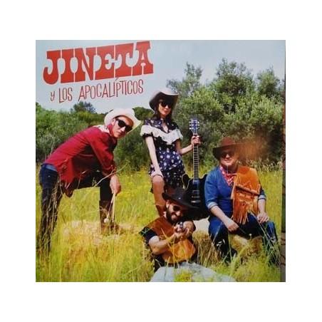JINETA Y LOS APOCALIPTICOS - Siempre Quise Ser Jineta  LP