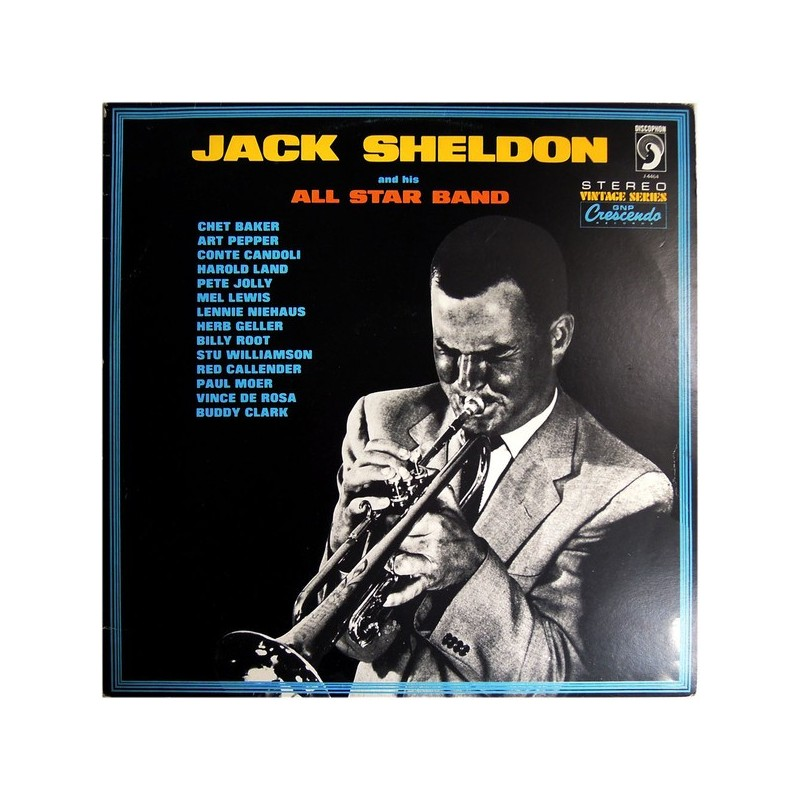 JACK SHELDON - And His All Stars Band LP
