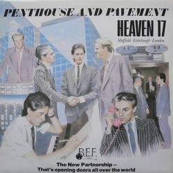 HEAVEN 17 - Penthouse And Pavement LP