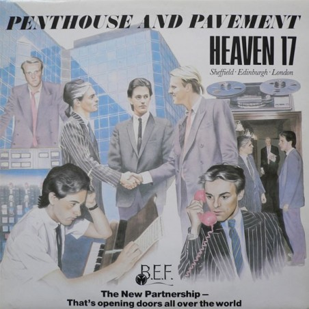 HEAVEN 17 - Penthouse And Pavement LP (Original)