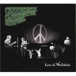 CREEDENCE CLEARWATER REVIVAL - Live At Woodstock LP