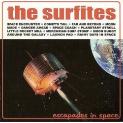 THE SURFITES - Escapades In Space LP